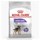 Royal Canin Dog Mini Sterilised - за кастрирани кучета от мини породи