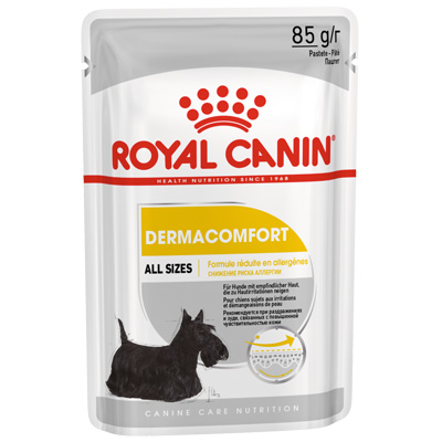 Royal Canin DOG Dermacomfort LOAF - пауч, 85гр