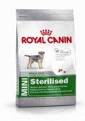 Royal Canin Mini Sterilised Adult - Висококачествена храна за Кастрирани кучета от дребните породи (1 -10кг.)