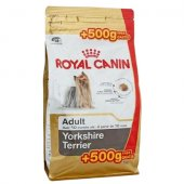 Royal Canin Yorkshire Terrier Adult - 500 гр с 500 гр ПОДАРЪК