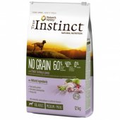 True Instinct Dog NO GRAIN Turkey Medium-Maxi Adult с пуйка, БЕЗ ЗЪРНО
