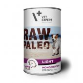 RAW PALEO Dog Light с агнешко - 6 броя консерви