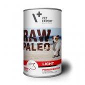 RAW PALEO Dog Light с телешко - 6 броя консерви