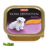 Vom Feinsten Junior с птичи дроб - пастет за малки кученца, 150г