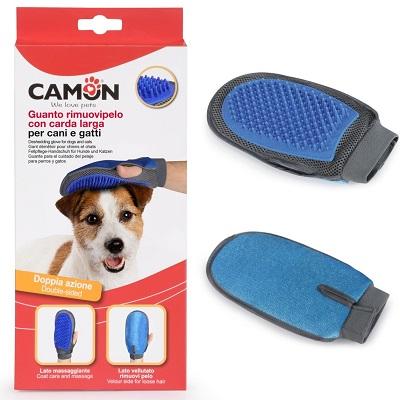 Camon Двойна ръкавица за късокосмести кучета и котки