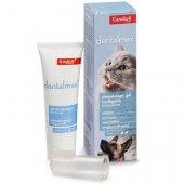 Candioli DentalPet, 50мл - адхезивна паста за зъби с четка-напръсник за кучета и котки