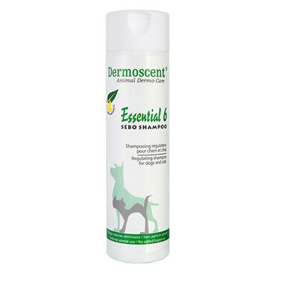 Essential 6 Sebo Shampoo, 200мл - регулиращ шампоан за кучета и котки със себо-керативни проблеми