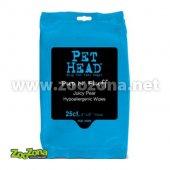 КУЧЕТА   Козметика и грууминг   Pet Head Pup n`Fluff Hypoallergenic Wipes 25 - хипоалергични мокри кърпи за малки кученца, 25бр