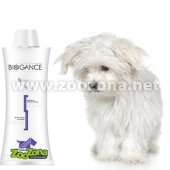Biogance White Snow - шампоан за кучета с бяла козина