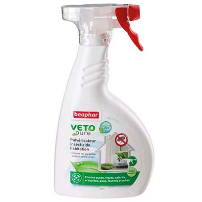 Beaphar Veto Pure Bio Environmental Spray, 400 мл - Репелентен спрей за околна среда