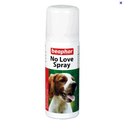 100710 - Спрей за разгонени женски кучета Beaphar No Love