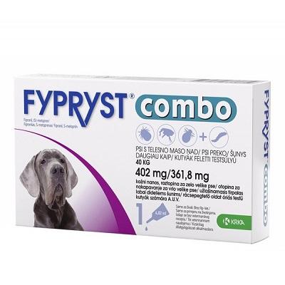 Fypryst Combo за кучета над 40 кг, 3 пипети в кутия