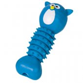 Nobby Играчка TPR Bone - синя котка, 16.5см