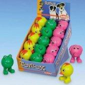 Nobby Гумена играчка - жаба, пиле или слон, 9.5 см