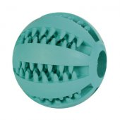 Trixie Дента топка Мента от естествен каучук, 7см
