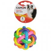 Camon TPR Играчка топка възел, 8см