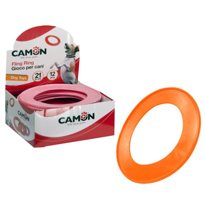 Camon Играчка Гумен ринг, 21 см, различни цветове