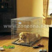 Металнa cгъваемa клеткa Savic Dog Residence 50, 50х33х40см