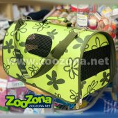 Biozoo Транспортна чанта, 50 х 26 х 27 см - зелена