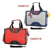 Транспортна чанта Camon Free Time, червена, 40x18x30см
