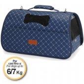 Camon Ватирана чанта Rombo - 42x25x25см, синя