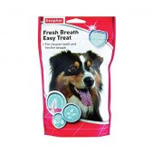 Beaphar Fresh Breath Easy Treat - 150гр - хапки за свеж дъх и чисти зъби