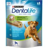 Purina Dog DentaLife Sticks - дентално лакомство за кучета 25-40кг, 4бр, 142гр