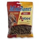 Antos Mini Bones Beef, 200 гр - мини кокалчета с говеждо