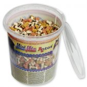 Мек снакс Antos Mini Mix, 500гр - пиле, агне, сьомга