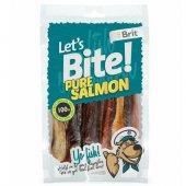 Лакомства за куче Brit Lets Pure Salmon - Истинска сьомга - 80 гр