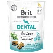Brit Care Dog Functional Snack Dental Venison, 150гр - дентално лакомство с еленско и розмарин