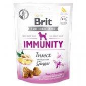 Brit Care Dog Functional Snack Immunity Insect, 150гр - лакомство за имунитет с джинджифил