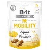Brit Care Dog Functional Snack Mobility Squid, 150гр - лакомство за стави и мобилност с калмари и ананас