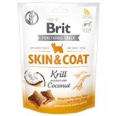 Brit Care Dog Functional Snack Skin&Coat Krill, 150гр - лакомство за кожа и козина с ракообразни и кокос