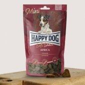 Happy Dog Soft Snack Mini Africa, 100гр - мек снакс със щраусово месо