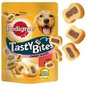 Pedigree Tasty Bites, 155гр - Дъвчащи парченца с телешко