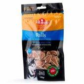 Pet Interest Rolls Chicken and Fish, 100гр - Деликатесни ролца за кучета с пиле и риба