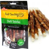 Pet Interest Deli Sticks Duck, 100гр - Кожени солети с патешко