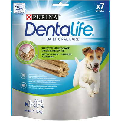 Purina Dog DentaLife Sticks - дентално лакомство за кучета 7-12кг, 7бр, 115гр