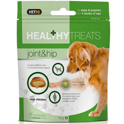 Mark & Chappell Dog Treats Joint & Hip Care, 70гр - стави и кости 1+1