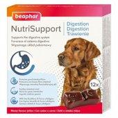 Beaphar Dog NutriSupport Digestion - Желирани капсули за добро храносмилане, 12 броя