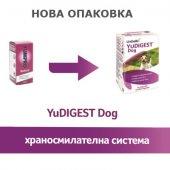 Lintbells YuDigest Dog - за възстановяване на чревната флора, 120 таблетки