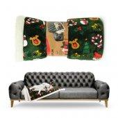 Camon Xmas - Меко одеяло Коледа - 130 x 120 см