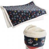 Camon Paws and bone - Меко одеяло - 130 x 120 см