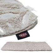 Trixie Постелка с плюш и велур, сива - 100 x 70см