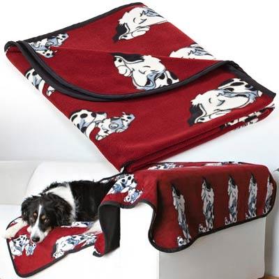 Trixi Одеяло-постелка от полар Doggy 150x100cm