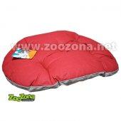 Ferplast Relax C 45 памучен дюшек - 43 x 30 см, червено-сив