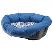 Ferplast Sofa 4 - пластмасово легло с дюшек лукс, 64 см, синьо