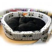 Ferplast Dandy F - легло от памучен плат с плюш, 55 см, миеща мечка