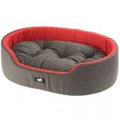 Ferplast Dandy C - легло от памучен плат, черно-червен